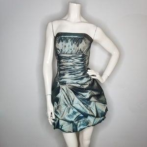 Jessica McClintock 80s Prom Dress Vintage